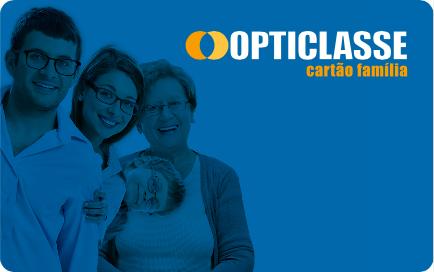 Cartão Opticlasse frente